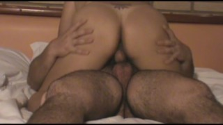 Sexo No Motel Da Coroa Gordinha Dando A Buceta Boa